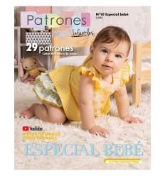 Revista de patrones infantiles nº 10 - especial bebé